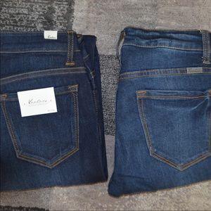 Denim - 2 KanCan Skinny Jeans 5/26